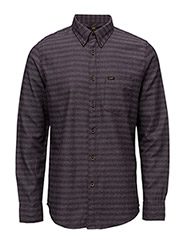 LEE BUTTON DOWN - DEEP PLUM