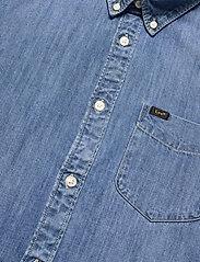 Lee Jeans - LEE BUTTON DOWN - denim shirts - tide blue - 3