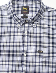 Lee Jeans - LEE BUTTON DOWN SS - checkered shirts - washed blue - 2