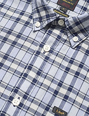 Lee Jeans - LEE BUTTON DOWN SS - checkered shirts - washed blue - 3