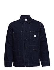 Logo jacket - POWER BLUE
