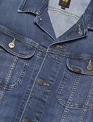 Lee Jeans - SLIM RIDER - denim jackets - mid visual cody - 2