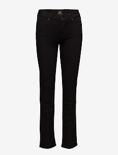 Marion Straight - straight jeans - black rinse