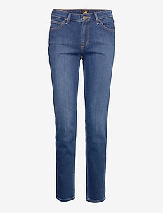 MARION STRAIGHT - straight jeans - mid worn in ray