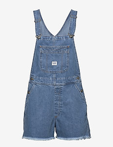 BIB SHORT - jumpsuits - light trashed