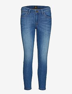 SCARLETT CROPPED - slim jeans - high blue
