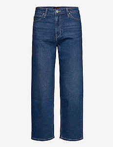 Wide Leg - straight jeans - dark dora