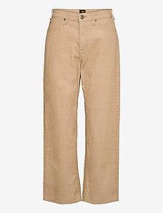 Wide Leg - uitlopende broeken - cornstalk
