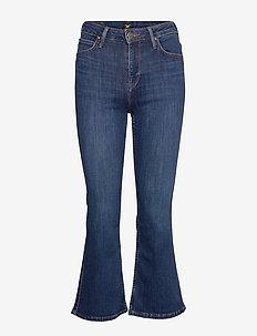 KICKED FLARE - flared jeans - dark hunt