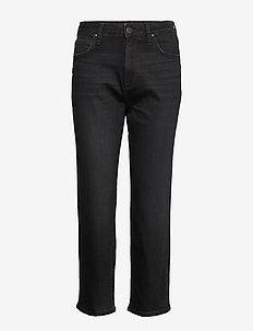 CAROL - proste dżinsy - black worn