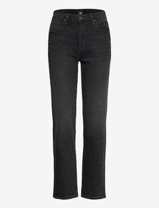 CAROL - straight jeans - captain black