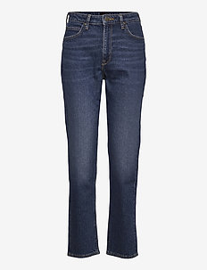 CAROL - straight jeans - dark ruby