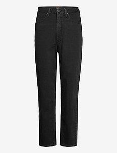 STELLA TAPERED - mom-jeans - black duns