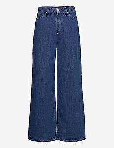 A Line Flare - vide jeans - mid jelt