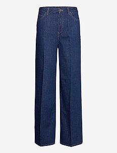 STELLA A LINE - brede jeans - dark eton