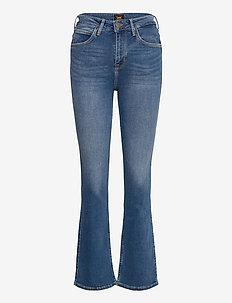 BREESE BOOT - uitlopende jeans - mid worn martha