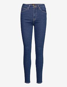 IVY - skinny jeans - dark mono