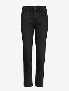 MOM STRAIGHT - mom-jeans - black worn