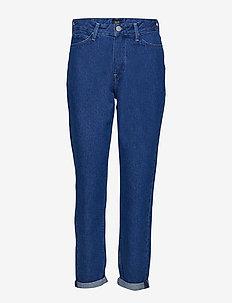 Mom Straight - mom jeans - remo light