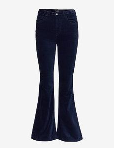 BREESE - flared jeans - midnight velvet
