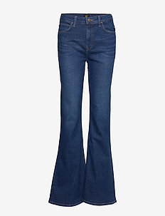 BREESE - uitlopende jeans - dark favourite