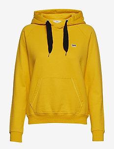 LEE HOODY - hoodies - lemon zest