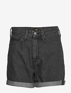 MOM SHORT - denimshorts - scarbro black