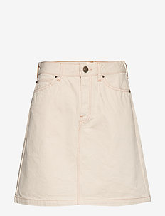 SEASONAL SKIRT - jeansowe spódnice - off white