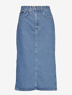 THELMA SKIRT - jeansowe spódnice - clean callie