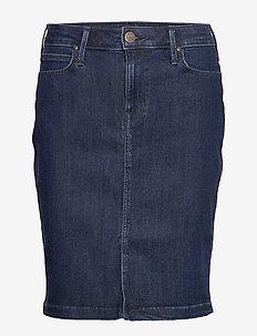 SKIRT - denim skirts - tonal stonewash