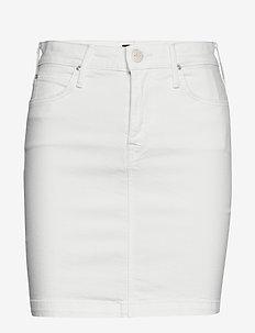 MID SKIRT - jeanskjolar - rinse