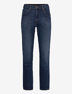 BROOKLYN STRAIGHT - relaxed jeans - mid worn park