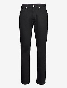 BROOKLYN STRAIGHT - relaxed jeans - clean black