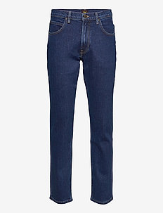 BROOKLYN STRAIGHT - relaxed jeans - dark stone