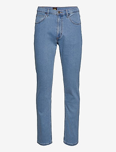 BROOKLYN STRAIGHT - relaxed jeans - light stone