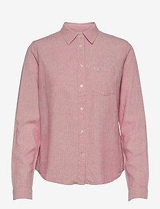 REGULAR SHIRT - long-sleeved shirts - cherry blossom