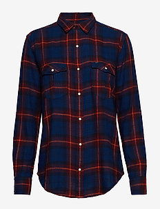 REGULAR WESTERN - langermede skjorter - midnight navy