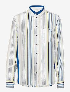 ONE POCKET SHIRT - langermede skjorter - ecru