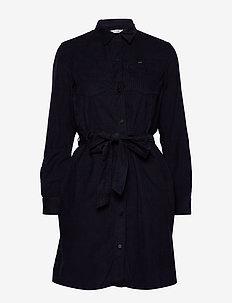 SHIRT DRESS - MIDNIGHT NAVY