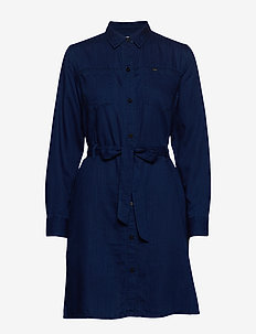 SHIRT DRESS - skjortekjoler - oil blue