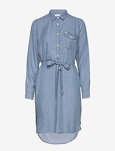ESSENTIAL DRESS - SUMMER BLUE