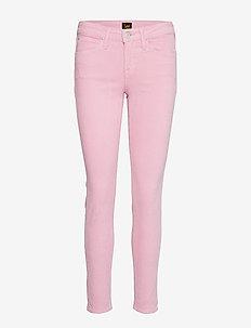 SCARLETT - spodnie rurki - cameo pink