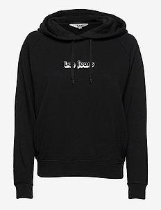 HOODIE - hoodies - black