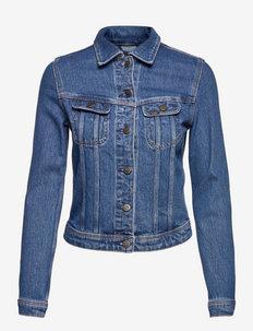 RIDER JACKET - jeansjakker - worn iris