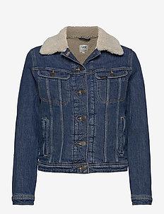 SHERPA RIDER - jeansjakker - vintage danny