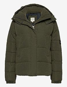 PUFFER JACKET - down- & padded jackets - serpico green