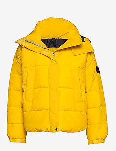 PUFFER JACKET - LEMON ZEST