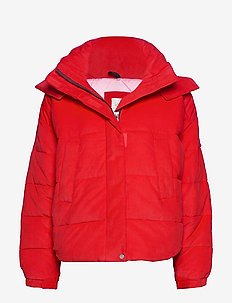 PUFFER JACKET - WARP RED