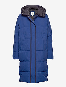 LONG PUFFER - OIL BLUE