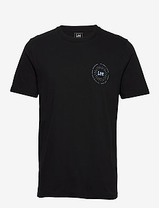 SMALL SUNSET TEE - BLACK